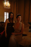 Yasmin Kerr and Princess Augusta von Preussen. Getting Ready for the 2005 Crillon Debutante Bal. Crillon Hotel, Paris. 25  November 2005. ONE TIME USE ONLY - DO NOT ARCHIVE  © Copyright Photograph by Dafydd Jones 66 Stockwell Park Rd. London SW9 0DA Tel 020 7733 0108 www.dafjones.com