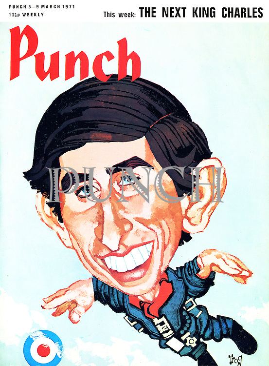 Punch front cover, 3-9 March 1971 (The Next King Charles)