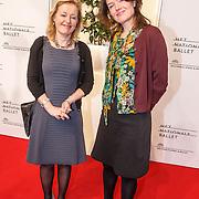 NLD/Amsterdam/20150410 - Première balletvoorstelling La Dame aux Camélias Het Nationale Ballet, minister Jet Bussemaker en vriendin