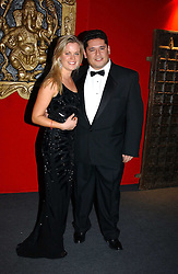 """LADY LUCINDA SAVILE and MR PETER D'EUGENIO at the 10th annual British Red Cross London Ball.  This years ball theme was Indian based - """"Yaksha - Yakshi: Doorkeepers to the Divine"""" and was held at The Room, Upper Ground, London on 1st December 2004.  Proceeds from the ball will aid vital humanitarian work, including HIV/AIDS projects that the Red Cross supports in the UK and overseas.<br /><br />NON EXCLUSIVE - WORLD RIGHTS"""