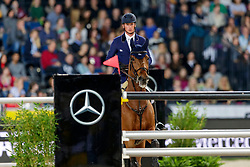 DEUSSER Daniel (GER), Killer Queen VDM<br /> Stuttgart - German Masters 2019<br /> MERCEDES GERMAN MASTER<br /> Int. Springprüfung mit Stechen<br /> CSI5*-W<br /> 15. November 2019<br /> © www.sportfotos-lafrentz.de/Stefan Lafrentz