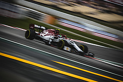 May 11, 2019 - Barcelona, Catalonia, Spain - ANTONIO GIOVINAZZI (ITA) from team Alfa Romeo drives during the third practice session of the Spanish GP at Circuit de Catalunya (Credit Image: © Matthias Oesterle/ZUMA Wire)