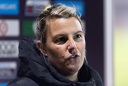 Tanya Oxtoby manager of Bristol City Women after the final whistle of the match - Mandatory by-line: Ryan Hiscott/JMP - 13/01/2021 - FOOTBALL - Twerton Park - Bath, England - Bristol City Women v Aston Villa Women - FA Continental Cup quarter final