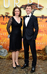Colin Butfield and Tanya Steele attending the global premiere of Netflix's Our Planet, held at the Natural History Museum, London.
