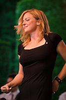Storm Large on lead vocals with Pink Martini at Longwood Gardens, Kennett Square, PA. Storm was sitting in for China Forbes who was sidelined for about six months due to throat surgery.