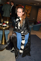 BRYONY DANIELS at a private screening of Eating Happiness in association with the World Dog Alliance held at Mondrian London, 20 Upper Ground, London on 25th January 2016.
