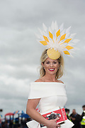 29/07/2017 Edel Russell (wife of Davy)on  the third day of the Galway Races summer Festival  Plate day .   Photo:Andrew Downes, xposure