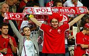 DESCRIZIONE : Lodz Poland Polonia Eurobasket Men 2009 Qualifying Round Polonia Poland Slovenia<br /> GIOCATORE : Tifosi Supporters Fans Polonia Poland<br /> SQUADRA : Polonia Poland<br /> EVENTO : Eurobasket Men 2009<br /> GARA : Polonia Poland Slovenia<br /> DATA : 14/09/2009 <br /> CATEGORIA :<br /> SPORT : Pallacanestro <br /> AUTORE : Agenzia Ciamillo-Castoria/M.Metlas<br /> Galleria : Eurobasket Men 2009 <br /> Fotonotizia : Lodz Poland Polonia Eurobasket Men 2009 Qualifying Round Polonia Poland Slovenia<br /> Predefinita :