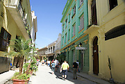 Havana, Cuba, Old Town, renovated buildings