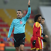 Kayserispor's and Besiktas's during their Turkish Super League soccer match Kayserispor between Besiktas at the Kadir Has Stadium in Kayseri Turkey on Saturday 05 December 2015. Photo by Kurtulus YILMAZ/TURKPIX