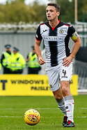 Captain Stephen McGinn of St Mirren during the Ladbrokes Scottish Premiership match between St Mirren and Hibernian at the Simple Digital Arena, Paisley, Scotland on 29th September 2018.