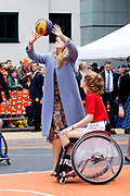 Koningsdag 2019 in Amersfoort / Kingsday 2019 in Amersfoort.<br /> <br /> Op de foto: Prinses Amalia  ///  Princess Amalia