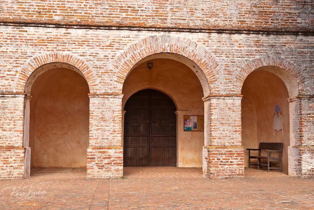 Arched entrance, Mission San Antonio de Padua (3rd California Mission - 1771), California