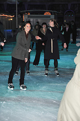 PIPPA MIDDLETON younger sister of Kate Middleton at Skate presented by Tiffany & Co at Somerset House, London on 22nd November 2010.