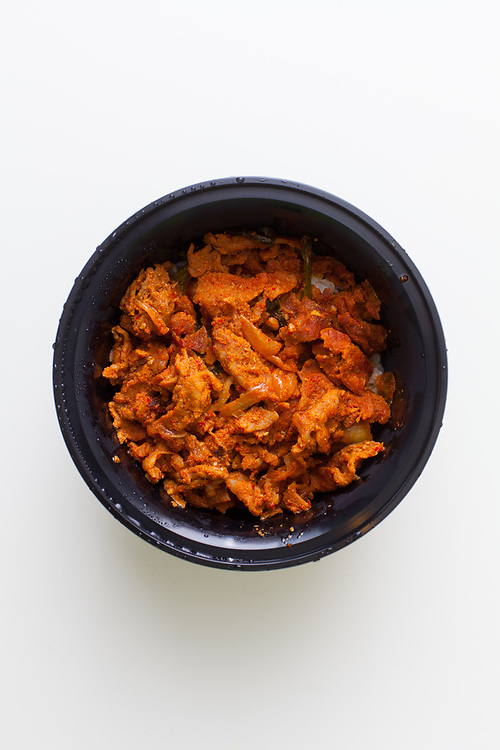 Spicy Pork from Cafe Manna ($6.52)