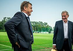 Bojan Ban of NK Maribor and Milan Mandaric  of NK Olimpija Ljubljana during NZS Draw for season 2016/17, on June 24, 2016 in Brdo pri Kranju, Slovenia. Photo by Vid Ponikvar / Sportida
