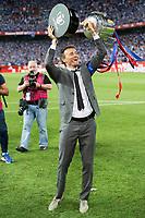 FC Barcelona's coach Luis Enrique Martinez during Copa del Rey (King's Cup) Final between Deportivo Alaves and FC Barcelona at Vicente Calderon Stadium in Madrid, May 27, 2017. Spain.<br /> (ALTERPHOTOS/BorjaB.Hojas)