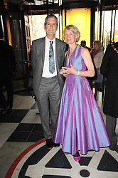 Director of the V&A MARK JONES and his wife at the opening of the Victoria & Albert Museum's latest exhibition 'Grace Kelly: Style Icon' opened by His Serene Highness Prince Albert of Monaco at the V&A on 15th April 2010.