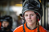 #29 (HUISMAN Ruby) NED during practice at Round 5 of the 2018 UCI BMX Superscross World Cup in Zolder, Belgium