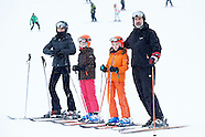 020517 Spanish Royals enjoy a holiday snow weekend