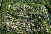 Nederland, Zuid-Holland, Rotterdam, 15-07-2012; Rotterdam-Zuid, Zuiderpark,  volkstuincomplex De Zuiderhof..Allotment complex in the south of Rotterdam..luchtfoto (toeslag), aerial photo (additional fee required).foto/photo Siebe Swart