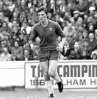 Mickey Droy - Chelsea. Chelsea v Southampton 21/4/73. Credit: Colorsport