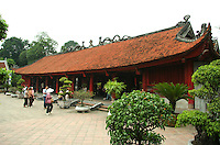 The Temple of Literature or Van Mieu -  In its beginning the Temple of Literature functioned as Vietnam's first university which was set up within the temple to educate Vietnam's nobles, royalty and members of the elite. The university functioned for more than 700 years.