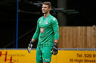 Chris Kettings is smiles all round during the Pre-Season Friendly match between Hampton & Richmond and Crystal Palace at Beveree Stadium, Richmond Upon Thames, United Kingdom on 27 July 2015. Photo by Michael Hulf.