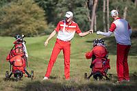 HILVERSUM - Denmark vs Swede (0-3) Quarter finals. ELTK Golf 2020 The Dutch Golf Federatio.n (NGF), The European Golf Federation (EGA) and the Hilversumsche Golf Club will organize Team European Championships for men. COPYRIGHT KOEN SUYK