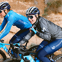 Lourdes Oyarbide. 2021 Movistar Team Training Camp, Almería. 10.1.2021.
