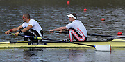 Caversham  Great Britain.<br /> Bow. Alex GREGORY and Mo SBIHI. <br /> 2016 GBR Rowing Team Olympic Trials GBR Rowing Training Centre, Nr Reading  England.<br /> <br /> Tuesday  22/03/2016 <br /> <br /> [Mandatory Credit; Peter Spurrier/Intersport-images]