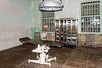 "United States, California, San Francisco. The famous Alcatraz prison island, also known as ""The Rock"". The hospital."