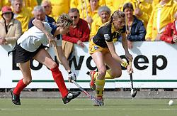 15-05-2005 HOCKEY: DEN BOSCH - HIGHTOWN: EUROPACUP 1: DEN BOSCH<br /> Den Bosch heeft vandaag de finale bereikt van het toernooi om de Europa Cup voor landskampioenen. De Brabantse ploeg deed dat met overmacht: 7-1 tegen het Engelse Hightown / Mijntje Donners <br /> ©2005-WWW.FOTOHOOGENDOORN.NL