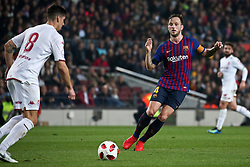 December 5, 2018 - Barcelona, Spain - Ivan Rakitic during the match between FC Barcelona and Cultural Leonesa, corresponding to the 1/16 final of the spanish King Cuo, played at the Camp Nou Stadium on 05th December 2018 in Barcelona, Spain. Photo: Joan Valls/Urbanandsport /NurPhoto. (Credit Image: © Joan Valls/NurPhoto via ZUMA Press)