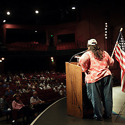 Lupe Moreno addresses supporters at a Minute Men summit in Las Vegas, Nevada. Please contact Todd Bigelow directly with your licensing requests.