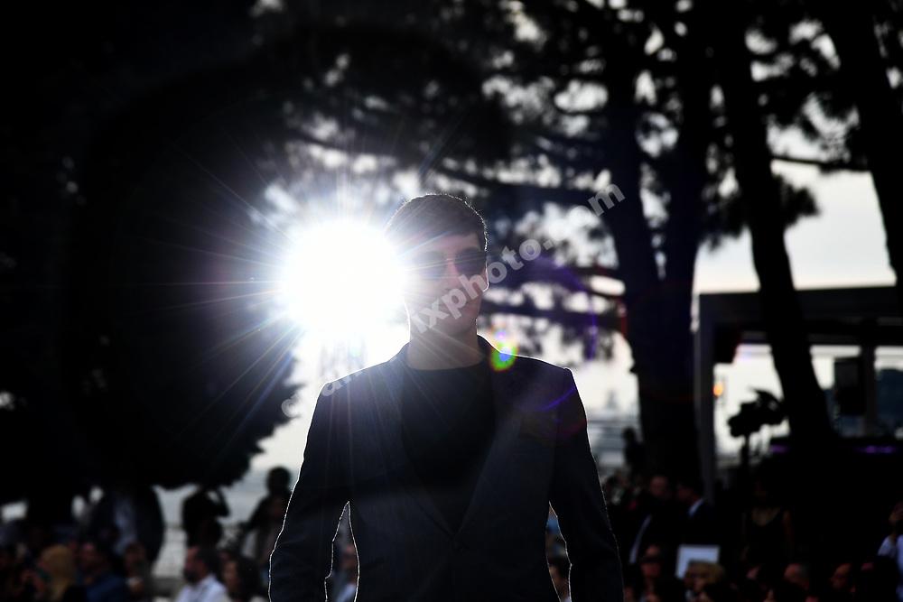 George Russell (Williams) at Amber Lounge fashion show before the 2019 Monaco Grand Prix. Photo: Grand Prix Photo