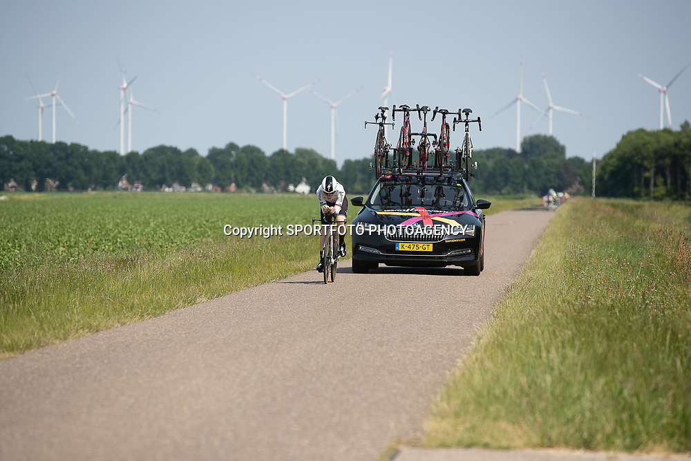 EMMEN (NED) June 16: <br /> CYCLING <br /> Anna van der Breggen on het way to the time trail title