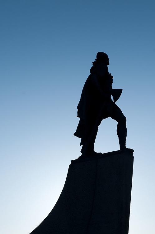 Leif Ericson Statue, Hallgrímskirkja, Reykjavik, Iceland