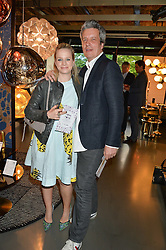 JUSTIN & CATRIONA BLAMPIED at Fork to Fork - a Fundraising Feast to support The Open Air Classroom Project held at The Dock Kitchen, Portobello Docks, 342-344 Ladbroke Grove, London on 19th May 2015.