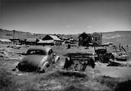 When the silver ran out, there was no water and nothing at all to sustain Bodie.  Bodie died and became a ghost town, frozen in time, frozen in a high barren desert valley just east of the Sierra Nevada Mountains, California.