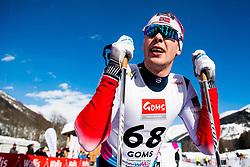 January 31, 2018 - Goms, SWITZERLAND - 180131 Mattis Stenshagen of Norway after the men's 15km classic technique interval start during the FIS U23 Cross-Country World Ski Championships on January 31, 2018 in Obergoms..Photo: Vegard Wivestad Grøtt / BILDBYRÃ…N / kod VG / 170091 (Credit Image: © Vegard Wivestad GrØTt/Bildbyran via ZUMA Press)