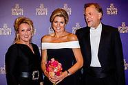 Koningin Maxima is donderdagavond 14 september 2017 aanwezig bij de opening van het nieuwe seizoen v