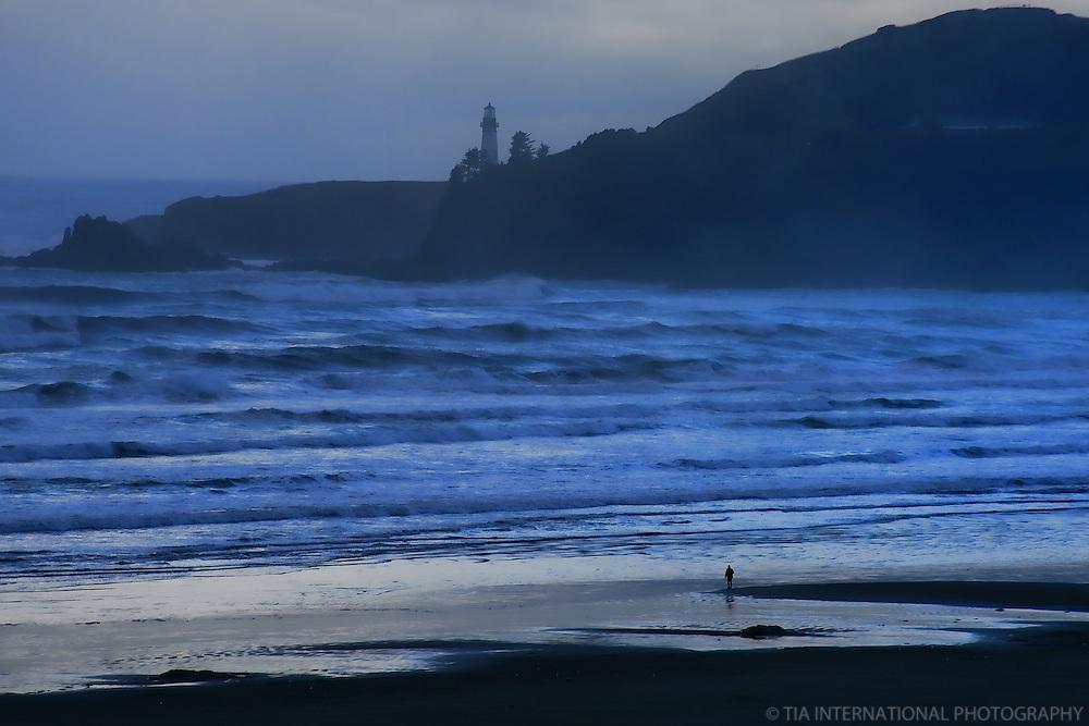 Agate Beach & Yaquina Bay Lighthouses