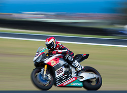 February 25, 2018 - Melbourne, Victoria, Australia - American rider Patrick Jacobsen (#99) of TripleM Honda World Superbike Team in action during the second race on day 3 of the opening round of the 2018 World Superbike season at the Phillip Island circuit in Phillip Island, Australia. (Credit Image: © Theo Karanikos via ZUMA Wire)