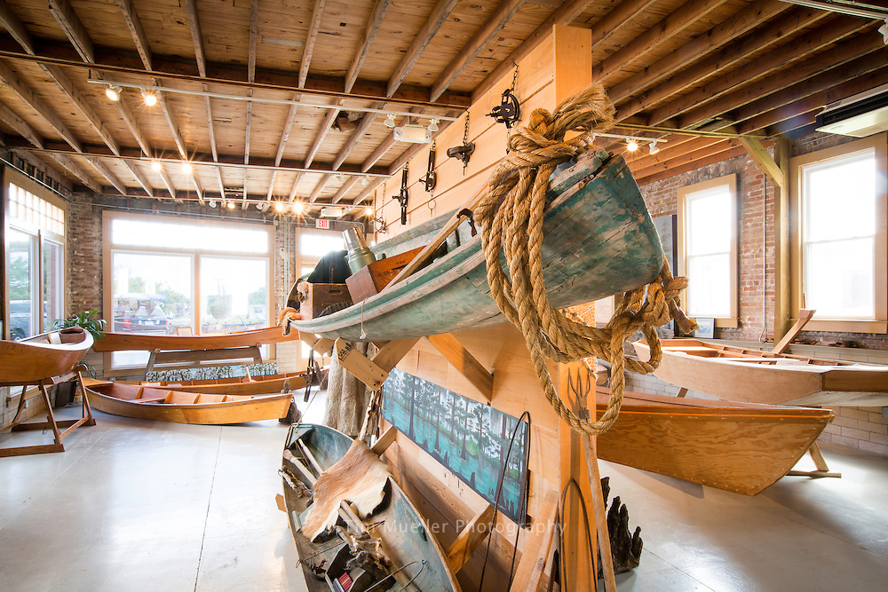 Founded in 1979, the Center for Traditional Louisiana Boat Building is located in an old Ford building at 202 Main Street in Lockport.  The Center does research into wooded boat building and is dedicated to preserving a Louisiana tradition.