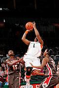 2009 Miami Hurricanes Women's Basketball vs Brown