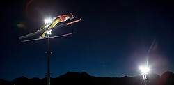 28.12.2015, Schattenbergschanze, Oberstdorf, GER, FIS Weltcup Ski Sprung, Vierschanzentournee, Training, im Bild Stephan Leyhe (GER) // Stephan Leyhe of Germany// during his Practice Jump for the Four Hills Tournament of FIS Ski Jumping World Cup at the Schattenbergschanze, Oberstdorf, Germany on 2015/12/28. EXPA Pictures © 2015, PhotoCredit: EXPA/ Peter Rinderer