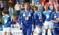 Trener Ivar Morten Normark.<br /> <br /> Fotball: Kongsvinger - Aalesund 2-2 (5-2 e. straffer). NM 2004 herrer, 3. runde. 8. juni 2004. (Foto: Peter Tubaas/Digitalsport.