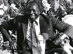 Dec. 12, 1968 - Kempala. Uganda: Idi Amin. The ruthless ruler of Uganda, the Life President, Al Hajj, Fild Marshal Dr. Idi Amin Dada, Vc., DSD., MC as he likes to be called. (Credit Image: © Keystone Pictures USA/ZUMAPRESS.com)