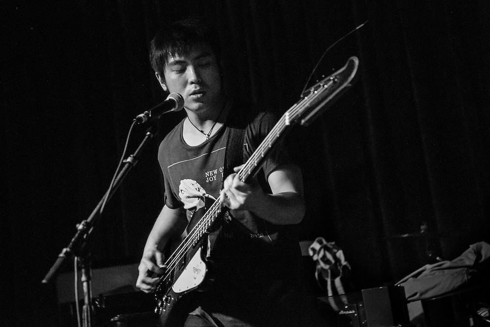 The Carsick Cars perform at the Brick and Mortar Music Hall in San Francisco, CA. The Carsick Cars are an indie band from Beijing whose lyrics at times criticize the communist government of China, but cleverly so as not to draw too much attention to themselves. Given China's climate of censorship, most bands, musicians, and celebrities stray away from politics. In order to be heard, many have taken to more creative ways of speaking out.